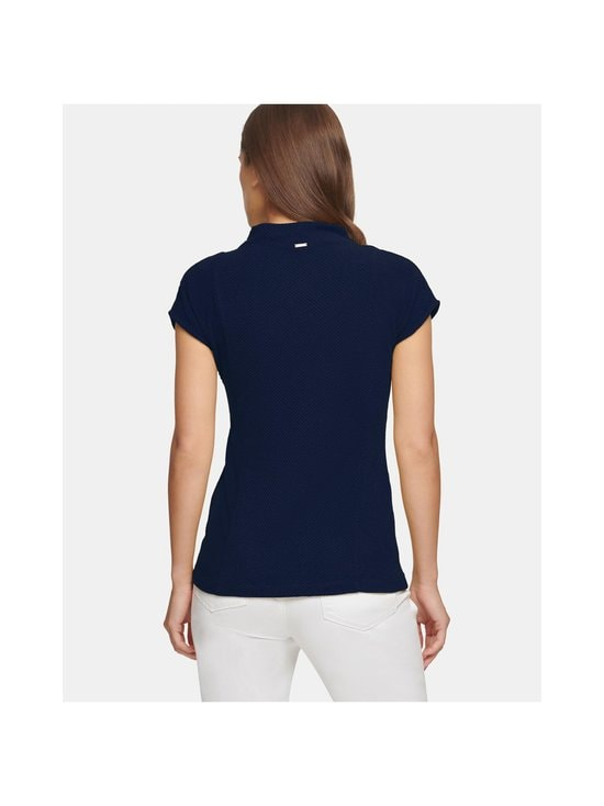 Dkny - Ribbed Mock Neck Tank -pusero - NAVY | Stockmann - photo 2