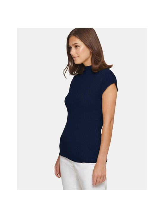 Dkny - Ribbed Mock Neck Tank -pusero - NAVY | Stockmann - photo 3