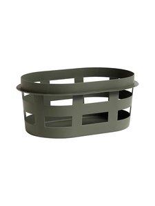 HAY - Laundry Basket -pyykkikori, S - ARMY (TUMMANVIHREÄ)   Stockmann