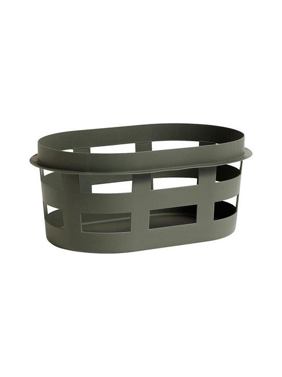 HAY - Laundry Basket -pyykkikori, S - ARMY (TUMMANVIHREÄ)   Stockmann - photo 1