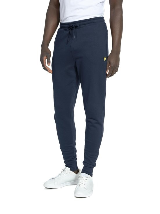 Lyle & Scott - Skinny Sweatpant -collegehousut - NAVY | Stockmann - photo 1