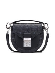 MCM - Patricia Mini Shoulder Bag In Visetos -laukku - BK BLACK | Stockmann