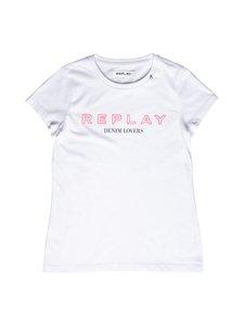 Replay & Sons - T-paita - 001 OPTICAL WHITE | Stockmann