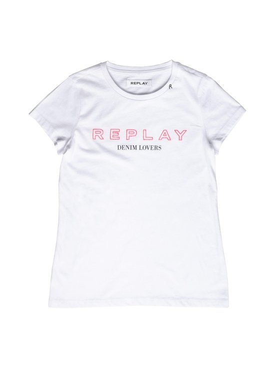 Replay & Sons - T-paita - 001 OPTICAL WHITE | Stockmann - photo 1