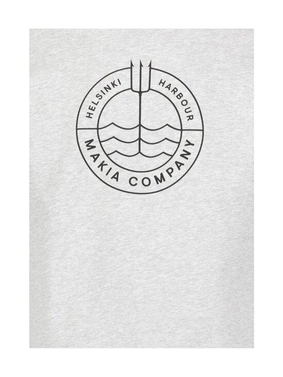 Makia - Trident Light Sweatshirt -collegepaita - 910 LIGHT GREY | Stockmann - photo 3