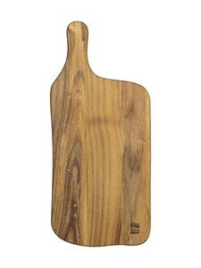 Aida - RAW Teak Wood -leikkuulauta 43 x 19 x 1,5 cm - TEAK   Stockmann