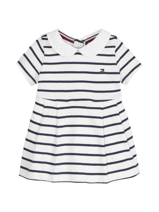 Baby Girl Rugby Stripe Dress -mekko
