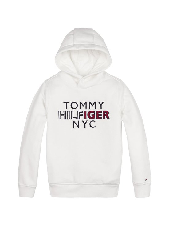 Tommy Hilfiger - TH NYC Graphic -huppari - YBR WHITE | Stockmann - photo 1