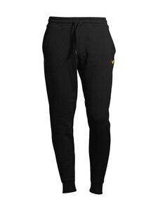 Lyle & Scott - Skinny Sweatpant -collegehousut - Z865 JET BLACK   Stockmann