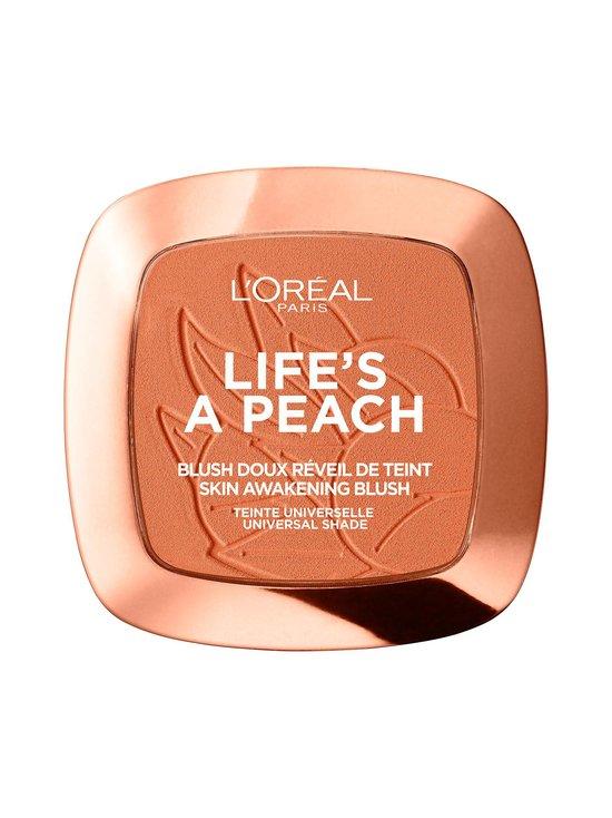 L'Oréal Paris - Life's a Peach -poskipuna - 01 PEACH GLOW | Stockmann - photo 1
