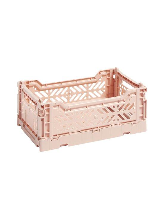 HAY - Colour Crate S -laatikko 26,5 x 17 x 10,5 cm - SOFT PINK   Stockmann - photo 1