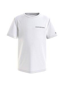Calvin Klein Kids - CHEST LOGO TOP -paita - YAF BRIGHT WHITE | Stockmann
