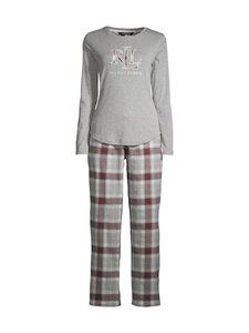 Lauren Ralph Lauren - Pyjama - 060 GREY PLD | Stockmann