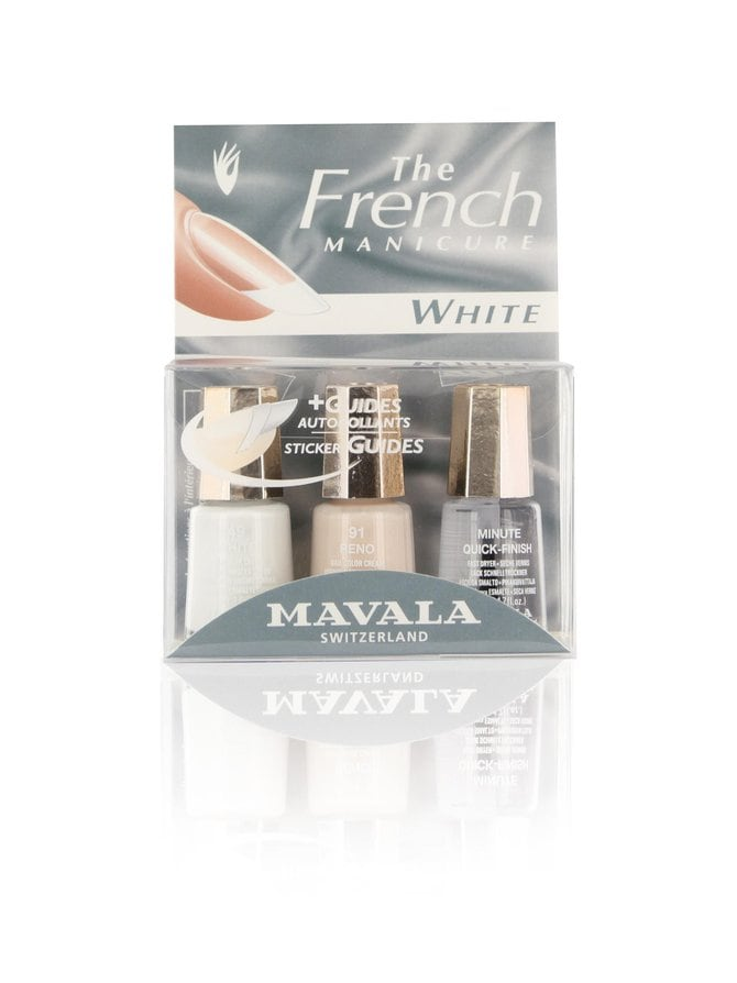 Set French Manicure White -tuotepakkaus