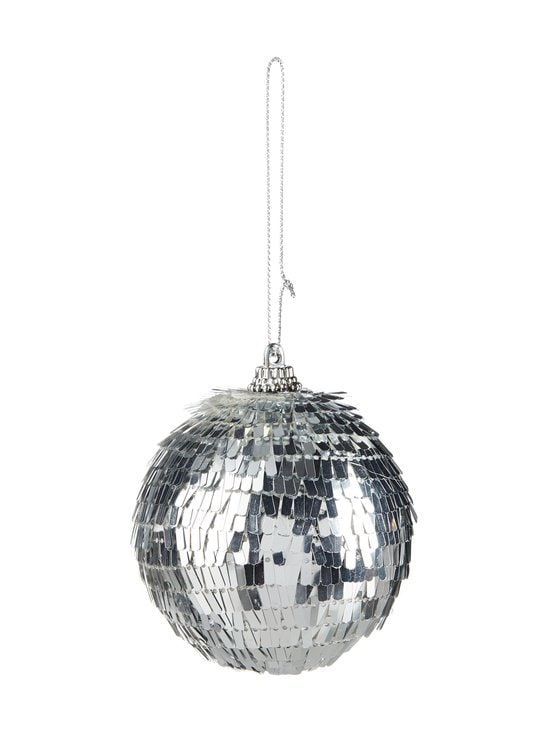 Villa Stockmann - Sequin Ball -joulupallo 8 cm - SILVER | Stockmann - photo 1