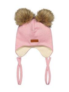 Gugguu - Double Furry Baby Beanie -pipo - VANILLA PINK   Stockmann