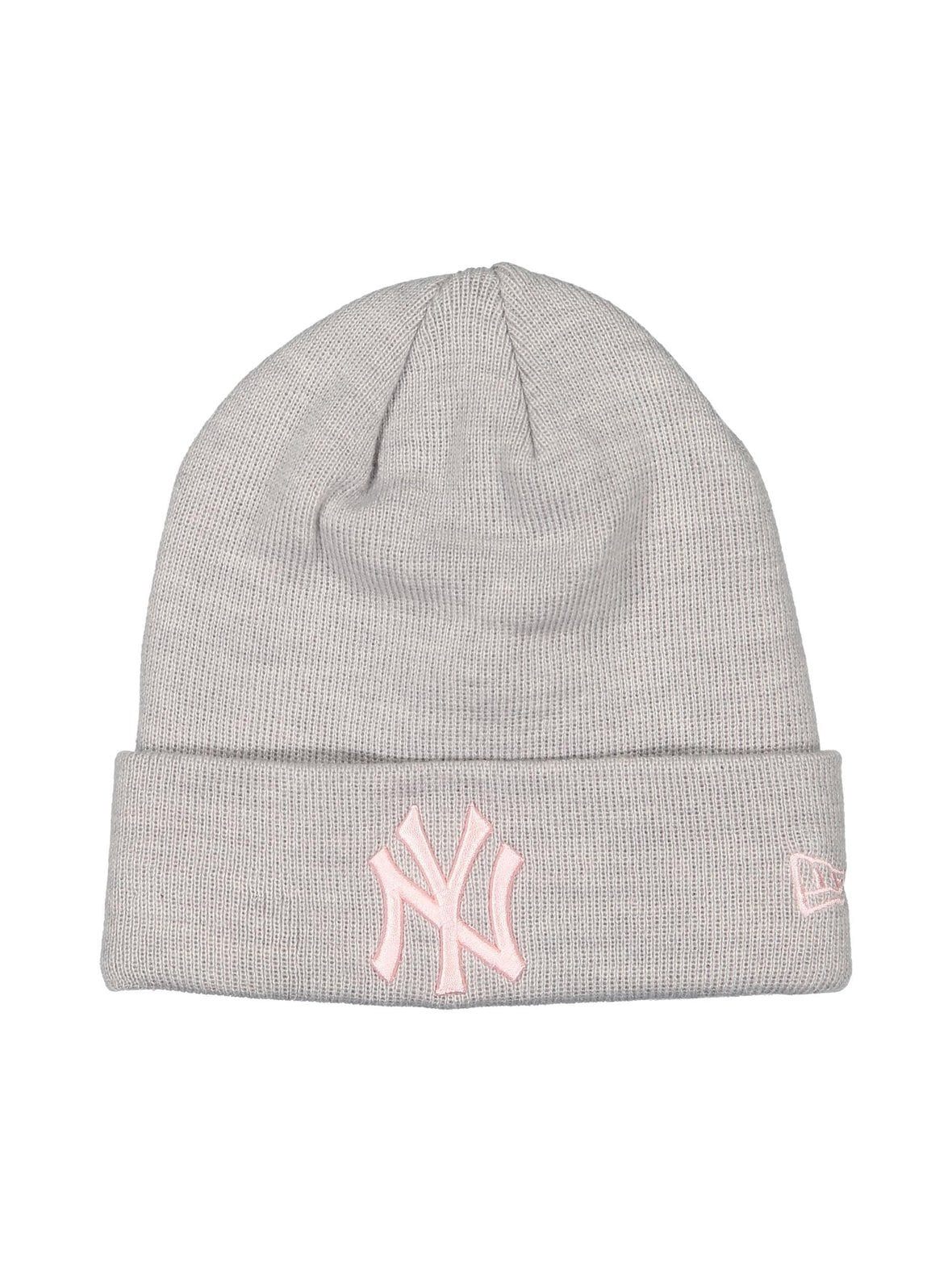 Heather Grey Pink (harmaa) New Era New York Yankees Basic Cuff Knit ... ef4a67b48f