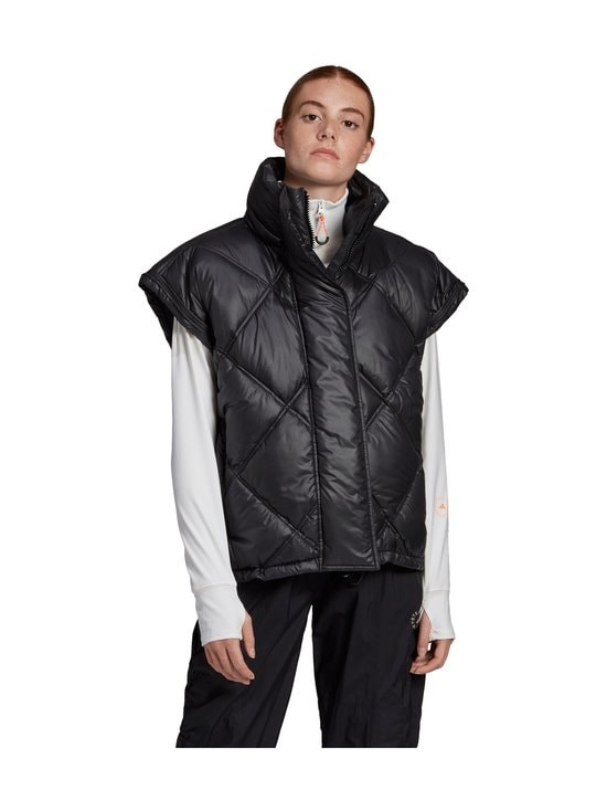 adidas by Stella McCartney - Short Puffer -toppatakki - BLACK | Stockmann - photo 4