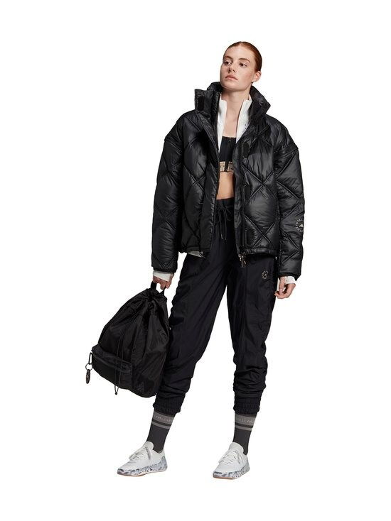 adidas by Stella McCartney - Short Puffer -toppatakki - BLACK | Stockmann - photo 6