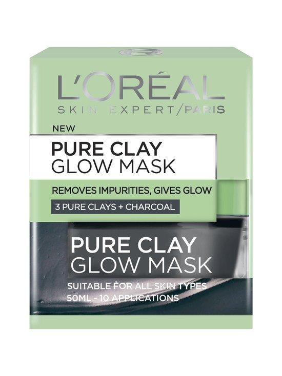 L'Oréal Paris - Pure Clay Glow Mask -heleyttävä kasvonaamio 50 ml | Stockmann - photo 2