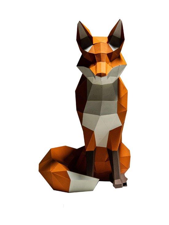 Papercraft World - FOXTOR Fox 3D Model -koriste - ORANGE | Stockmann - photo 2