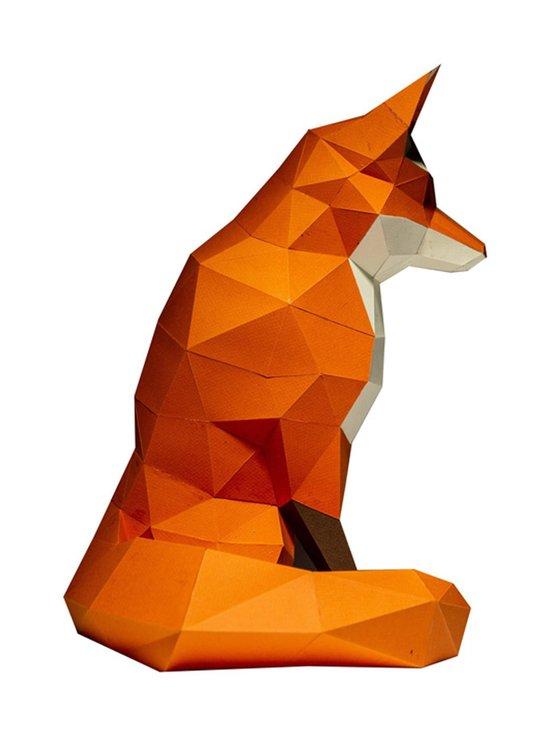 Papercraft World - FOXTOR Fox 3D Model -koriste - ORANGE | Stockmann - photo 3
