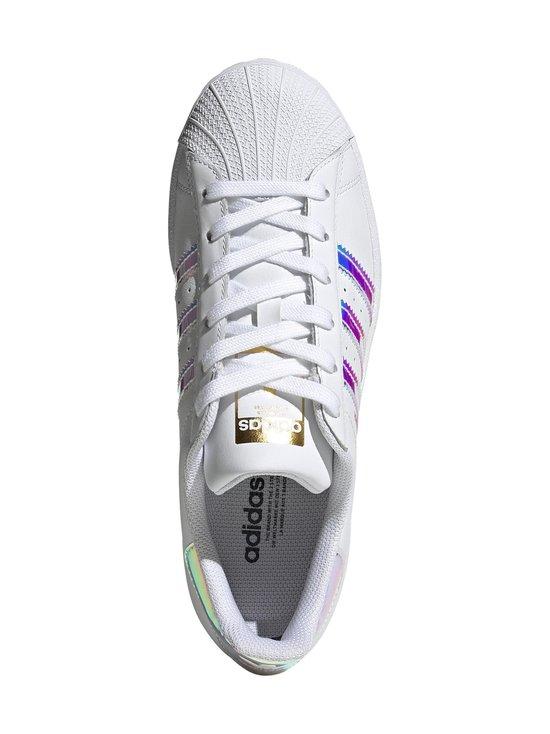 adidas Originals - W Superstar -nahkatennarit - FTWWHT/GOLDMT/CBLACK | Stockmann - photo 3