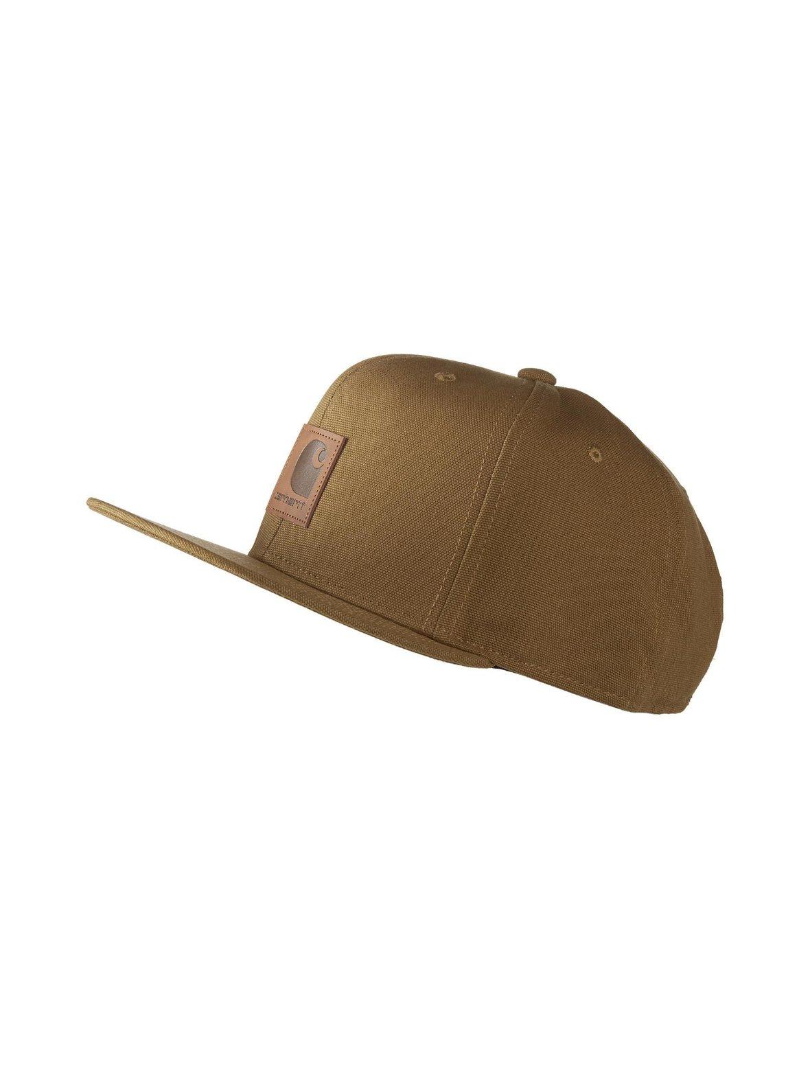 Hamilton Brown (ruskea) Carhartt I023099 01 Logo Cap -lippalakki ... 7eb2283e6f