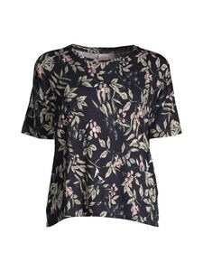 NOOM loungewear - Uliana jersey -paita - LT.BLUE FLOWER COMBO | Stockmann