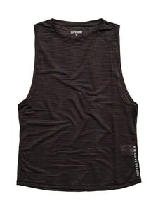 Superdry Sport - Training Mesh Tank -toppi - 02A BLACK | Stockmann