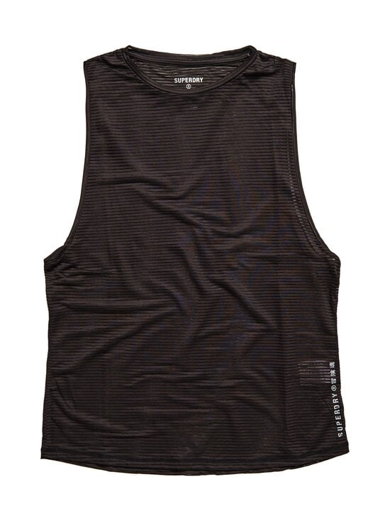 Superdry Sport - Training Mesh Tank -toppi - 02A BLACK | Stockmann - photo 1