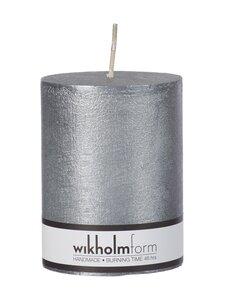 Wikholm Form - Rustic-pöytäkynttilä 7 x 9 cm - SILVER METALLIC | Stockmann