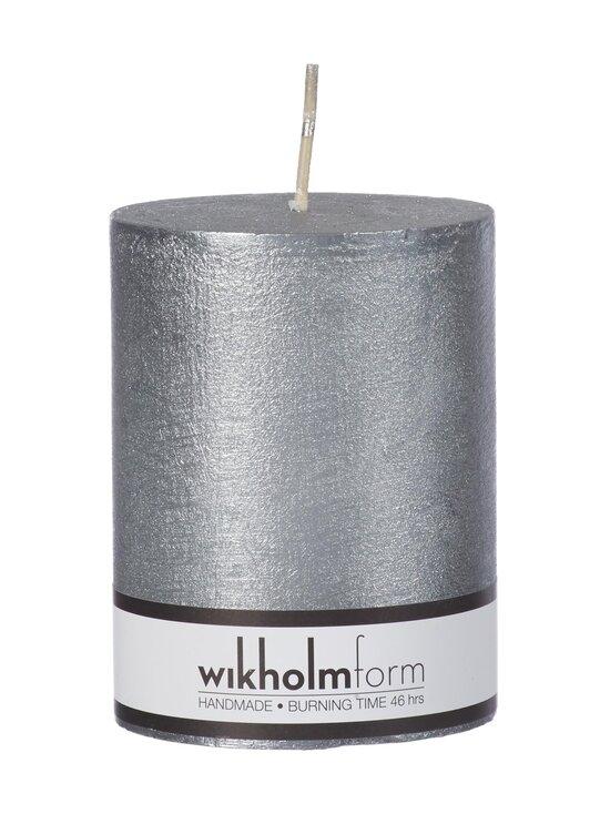 Wikholm Form - Rustic-pöytäkynttilä 7 x 9 cm - SILVER METALLIC | Stockmann - photo 1