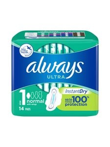 Always - Ultra Normal Plus -terveysside 14 kpl - null | Stockmann