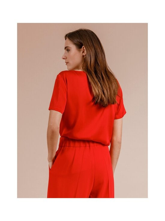 Andiata - Bloomie-silkkipusero - 014 RED | Stockmann - photo 4