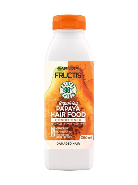 Garnier - Fructis Hair Food Papaya Conditioner -hoitoaine 350 ml - NOCOL | Stockmann - photo 1