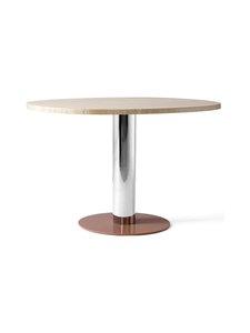 &tradition - Mezcla JH22 -pöytä 120 x 90 x 73 cm - TRAVERTINE / CROME / CLAY | Stockmann
