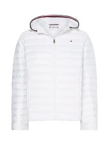 Tommy Hilfiger - TH ESS LW DOWN JACKET -kevyttoppatakki - YBR WHITE | Stockmann