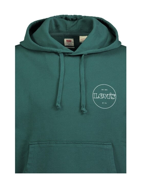 Levi's - Hoodie Block Color -huppari - 0004 FOREST GREEN | Stockmann - photo 4