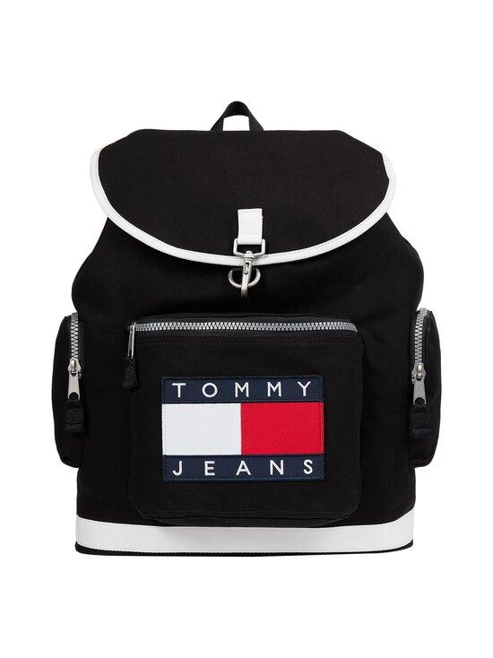 Tommy Hilfiger - Heritage Oversize Backpack -reppu - BDS BLACK   Stockmann - photo 1