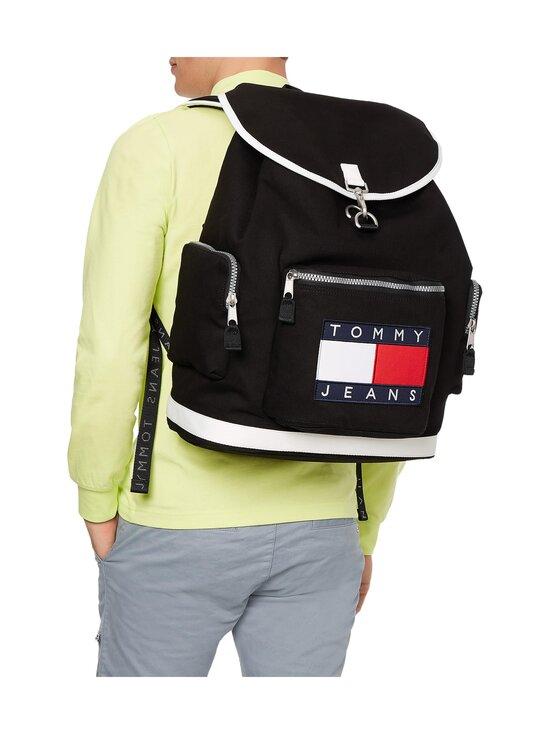 Tommy Hilfiger - Heritage Oversize Backpack -reppu - BDS BLACK   Stockmann - photo 3