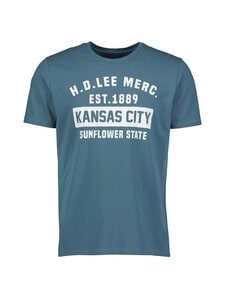 Lee - Tee Short Sleeve Kansas City -paita - QO TEAL | Stockmann