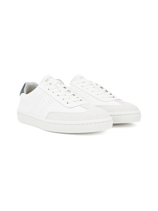 BOSS - Ribeira_Tenn_ltwt-nahkasneakerit - 100 WHITE | Stockmann - photo 2