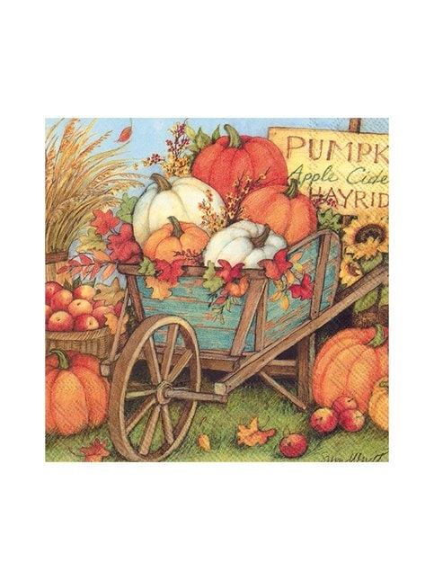 Pumpkin Crop -servetti 33 x 33 cm