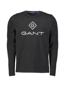 GANT - Lock Up LS T-Shirt -paita - 5 BLACK   Stockmann
