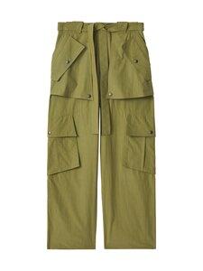 Kenzo - Large Cargo Pant -housut - 49 - WASHED COTTON - TAUPE KHAKI | Stockmann
