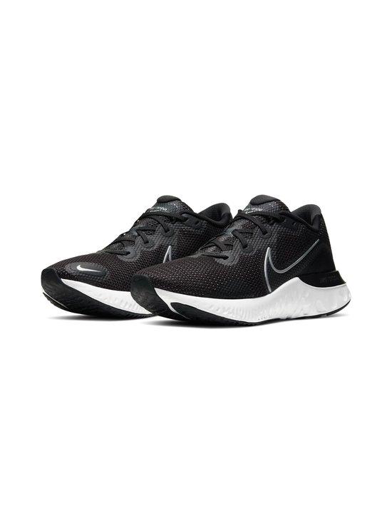 Nike - Renew Run -juoksukengät - 002 BLACK/METALLIC SILVER-WHITE   Stockmann - photo 4