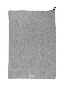 Balmuir - Pellavakeittiöpyyhe 50 x 70 cm - DARK GREY MELANGE | Stockmann
