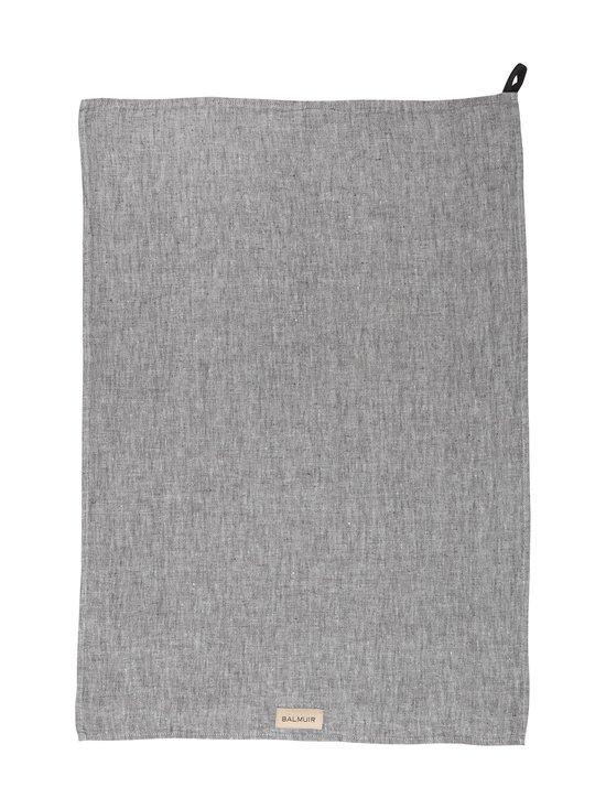Balmuir - Pellavakeittiöpyyhe 50 x 70 cm - DARK GREY MELANGE | Stockmann - photo 1