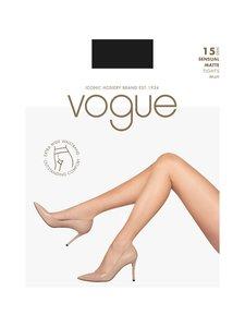Vogue - Sensual Matte 15 den -sukkahousut - BLACK | Stockmann